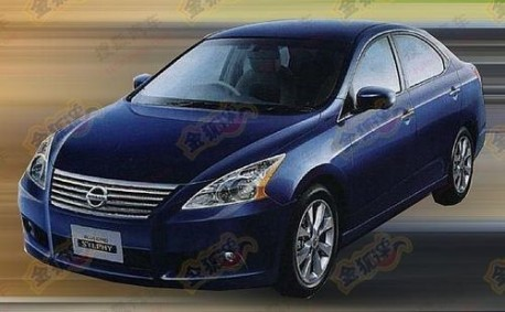new Nissan Sylphy testing in China