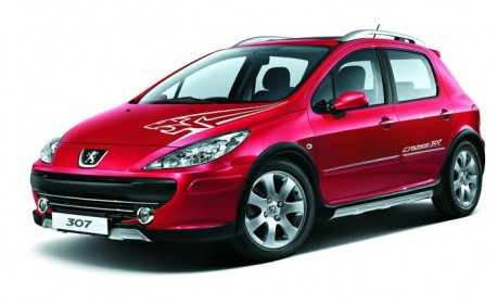 Peugeot Cross 307 China