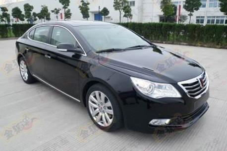 new Roewe 750 China