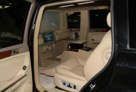 SinoAmo Mercedes-Benz GL450 stretched limousine