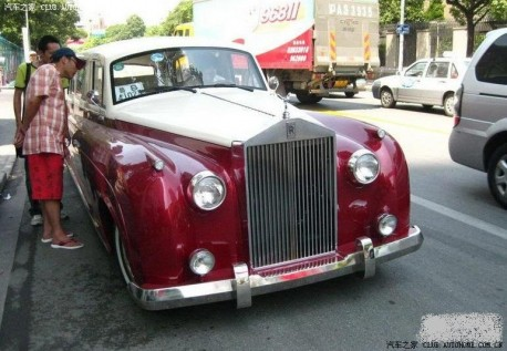 fake Rolls Royce from China
