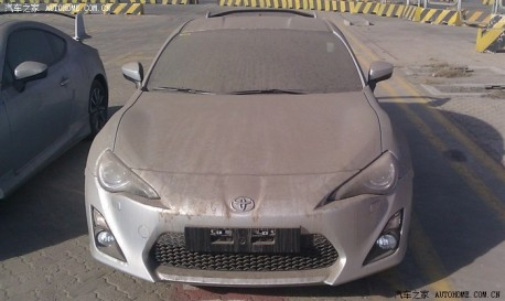 Toyota GT 86 arrives in China