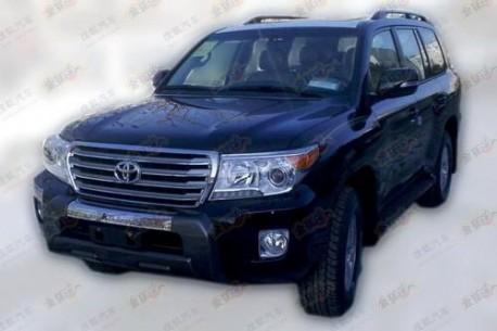Toyota Land Cruiser China