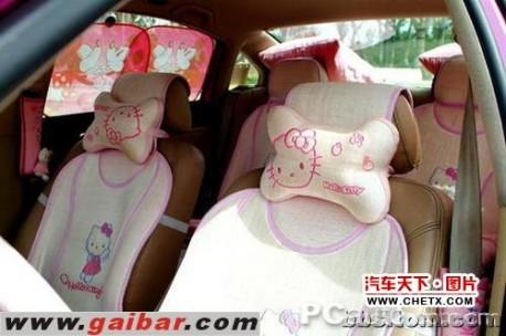 Hello Kitty Volkswagen Passat from China