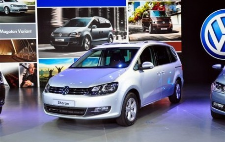 Volkswagen Sharan China