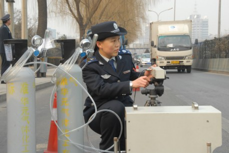 Beijing bans high-emission vehicles
