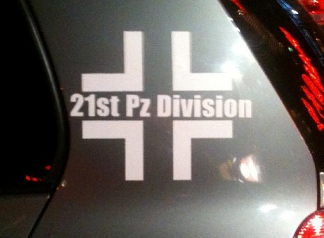 Volkswagen Golf '21 Panzer Division' from China