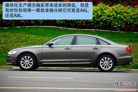 Audi A6L is Out in China