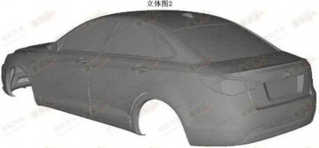 Beijing Auto C50 is old Saab 9-3