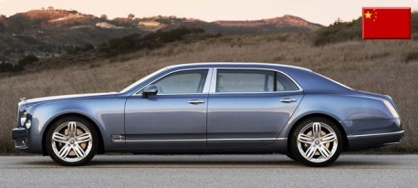 Long-wheelbase Bentley Mulsanne