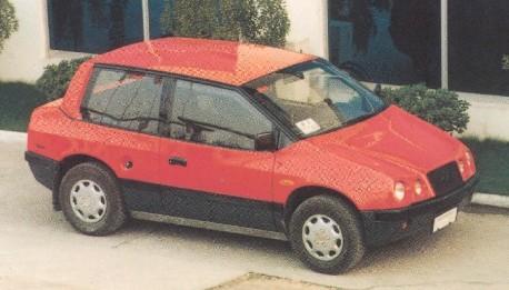 JIAD Buddy plastic car from China