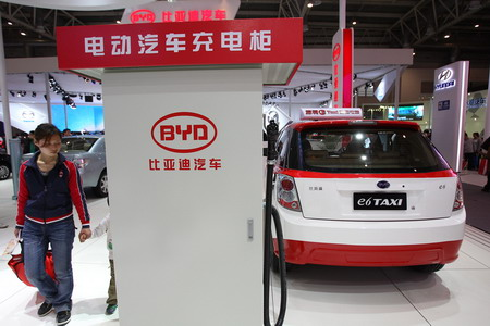 BYD e6 taxi China