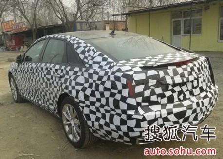 Cadillac XTS China