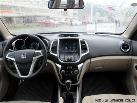 Chang'an Eado listed & priced in China