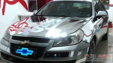 Chevrolet Epica in Chrome in China