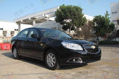 Chevrolet Epica naked in China
