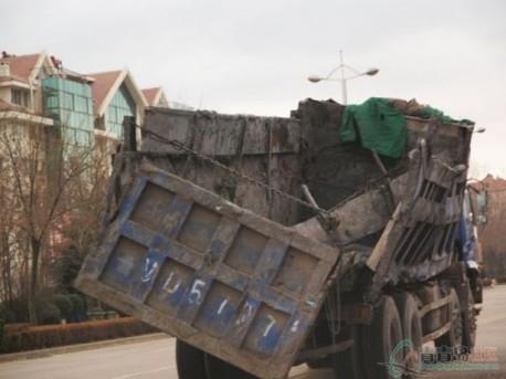 Broken truck still rides in China
