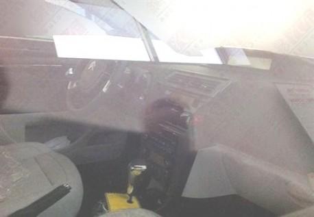 new Citroen C4 sedan all-naked in China