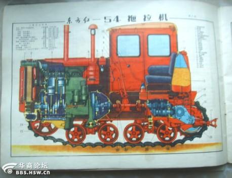 Dongfanghong Type 54 crawler-tractor