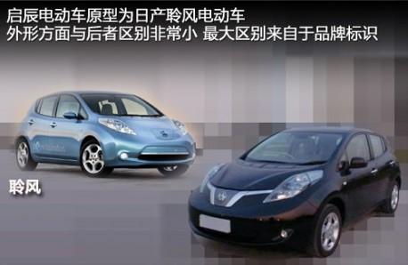 Dongfeng-Nissan Venucia EV