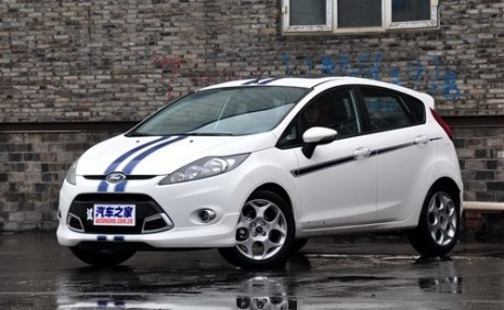 Ford Fiesta 'S' limited edition from China