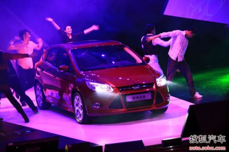 Ford Focus launched in China
