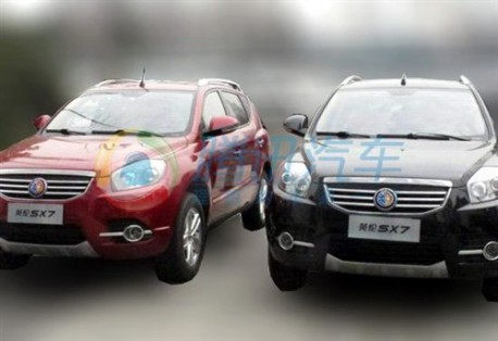 Geely Englon SX7 in China