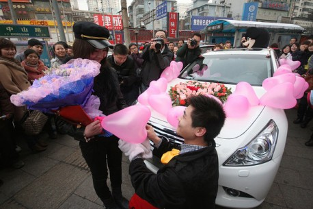 Chinese Marriage with an Infiniti