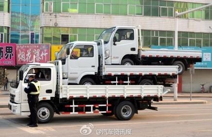 bizarre truck transport china