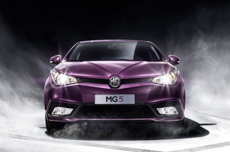 First official pictures of the MG5