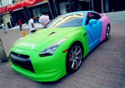 Nissan GT-R China