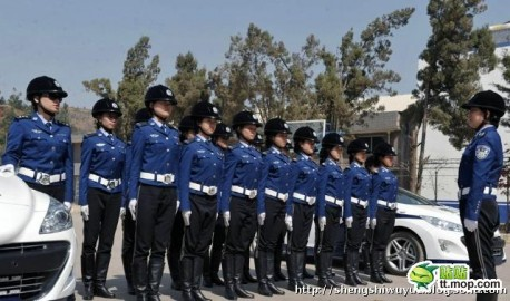 Peugeot 308CC police cars China