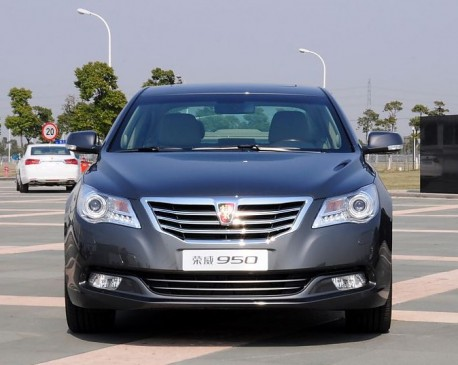 Roewe 950 is OUT in China