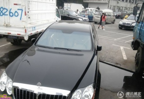 Maybach 62S China