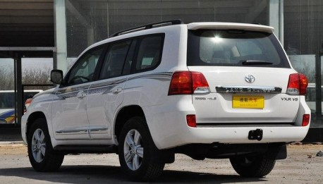facelifted toyota land cruiser listed priced in china. Black Bedroom Furniture Sets. Home Design Ideas
