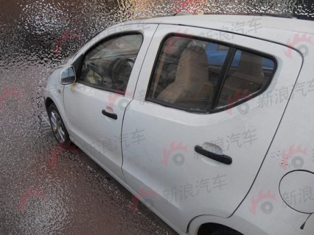 Zotye Z100 testing in China
