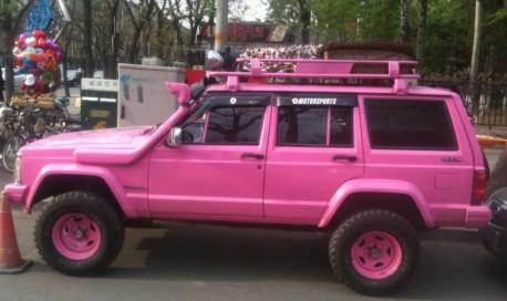 Pinky n cherokee