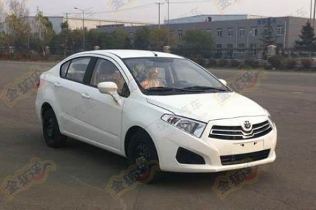 Brilliance H330 naked in China