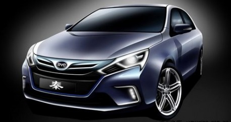 BYD Qin concept