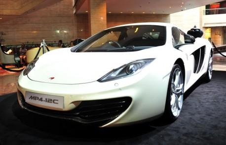 McLaren MP4-12C arrives in China