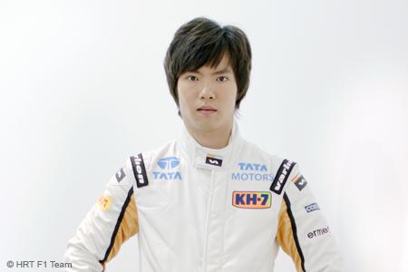 Ma Qinghua Chines Formula 1 driver