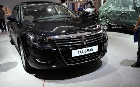 renault talisman pops up at the beijing auto show. Black Bedroom Furniture Sets. Home Design Ideas
