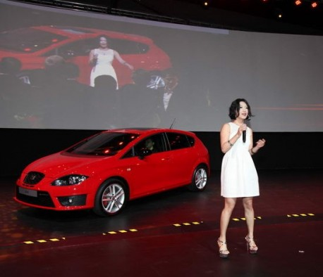 Seat Leon listed & priced in China