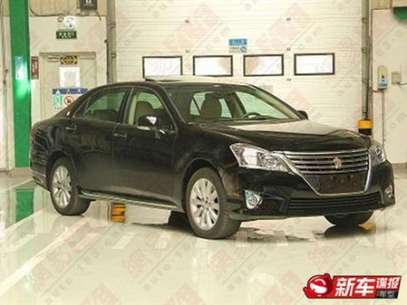 Toyota Crown in China