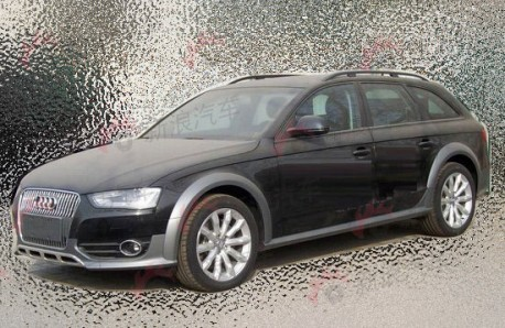 Audi A4 Allroad testing in China