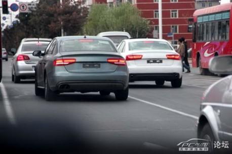 Audi A4L in China