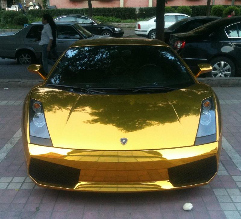 Bling Lamborghini Gallardo In Gold From China Carnewschina Com
