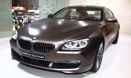 BMW 6 Series Gran Coupe China