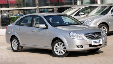 Buick Excelle China