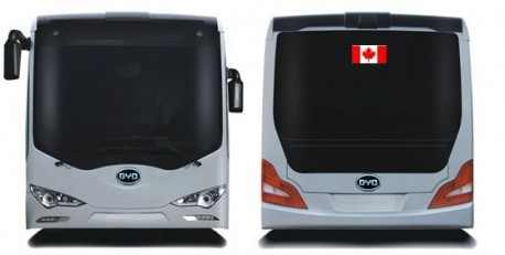 BYD electric bus